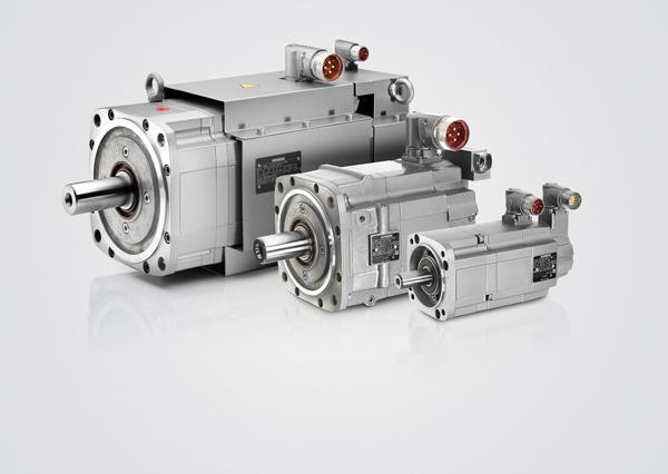 1FT7 电机是结构极为紧凑的永磁式同步电机。它们满足精度、动态特性、转速设定范围以及防护等级和坚固性等方面的严格要求。这些电机配有最新的编码器技术,针对同西门子的全数字式驱动与控制系统一起使用进行了优化。 冷却方式分为自然冷却、外部冷却或水冷却。在自然冷却方式中,所产生的热量通过表面散出;而在外部冷却方式中,将使用一个安装的风扇进行强制散热。通过水冷却方式可取得最大程度的冷却,从而获得最高性能。